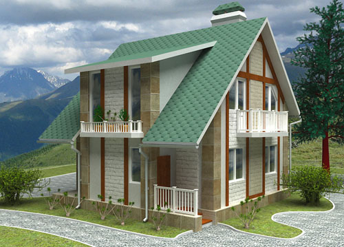 Проекты домов лстк